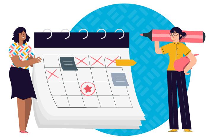 Freelancer schedule